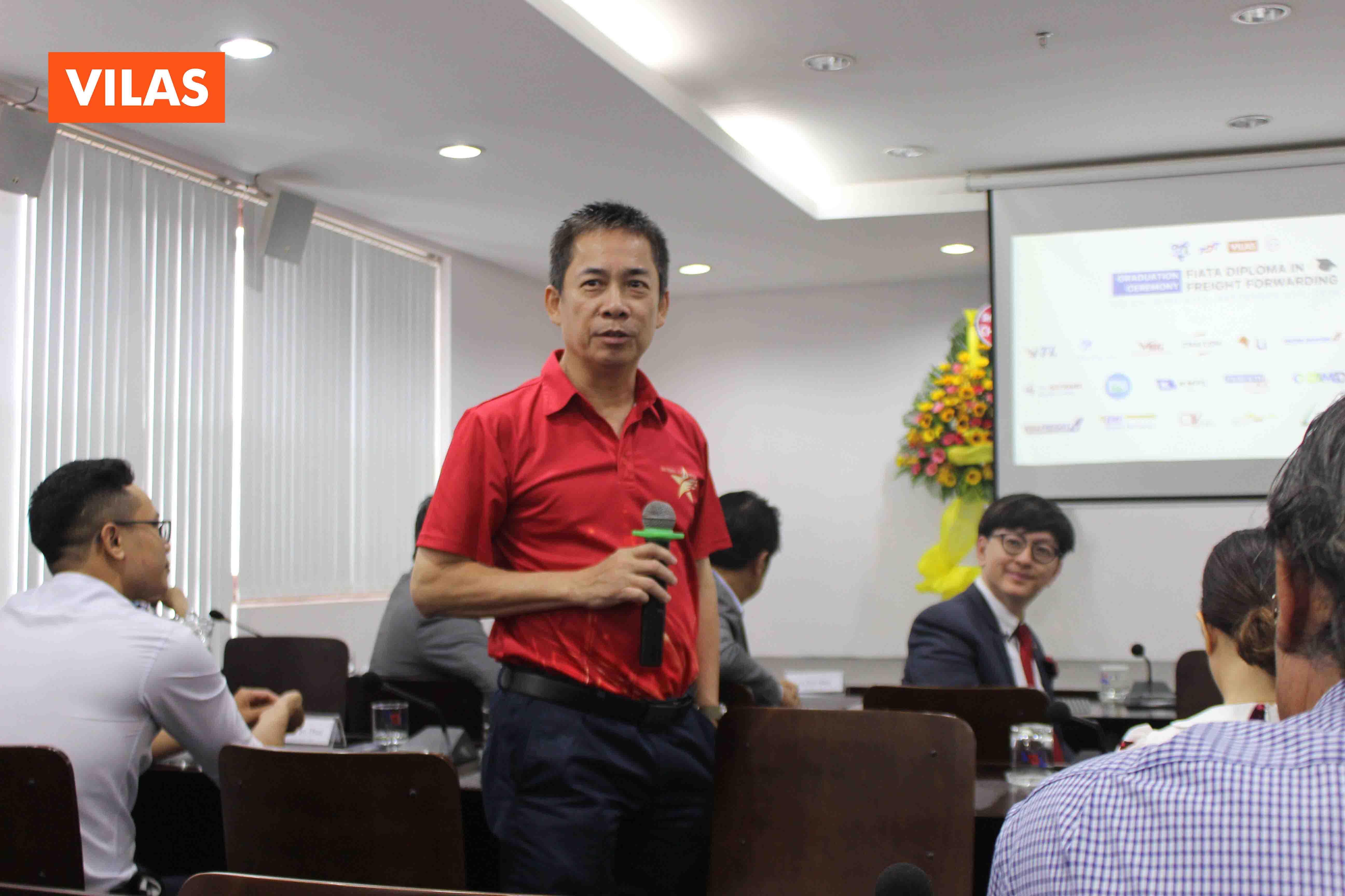 ông Simon Thúc đã có đôi lời chia sẻ về thế hệ các bạn trẻ tham gia vào lĩnh vực Logistics