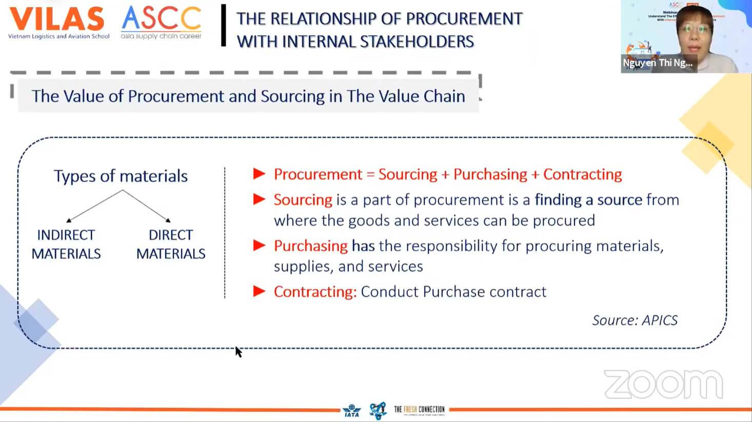Webinar procurement VILAS