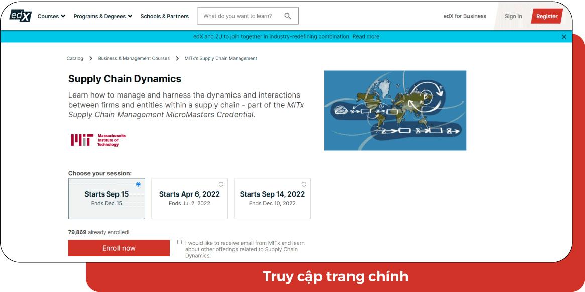 [Phần 2] 10 khóa học online chuỗi cung ứng tiêu biểu 2021